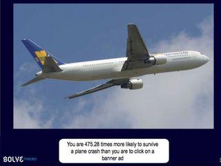 Bannières et crash aérien