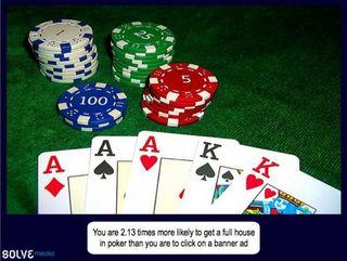 Bannières et poker