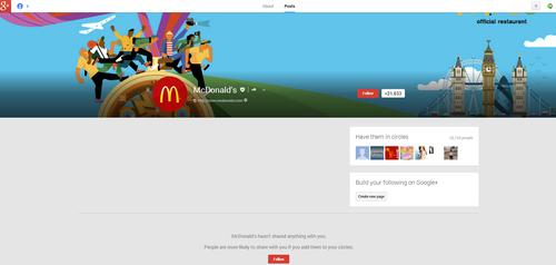 MacDonald GooglePlus