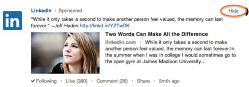 Linkedin-sponsored-updates-hide