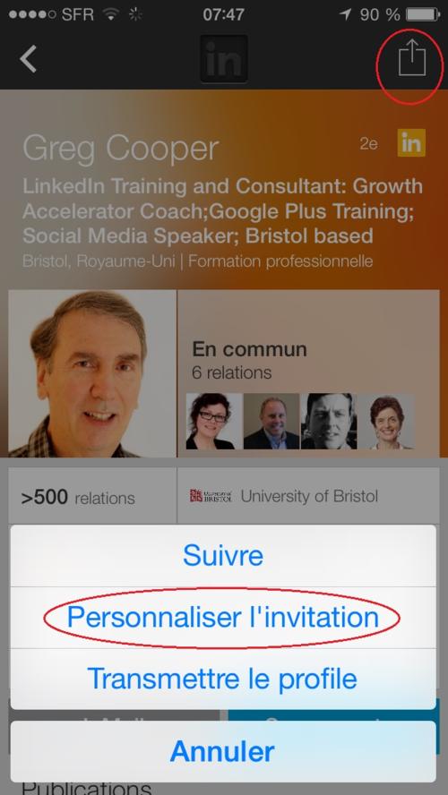 Personnalisation iphone
