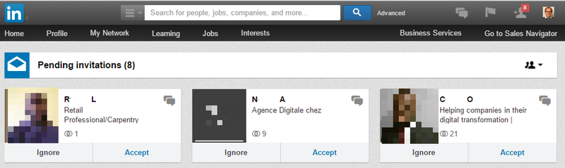 LinkedIn Invitations demain
