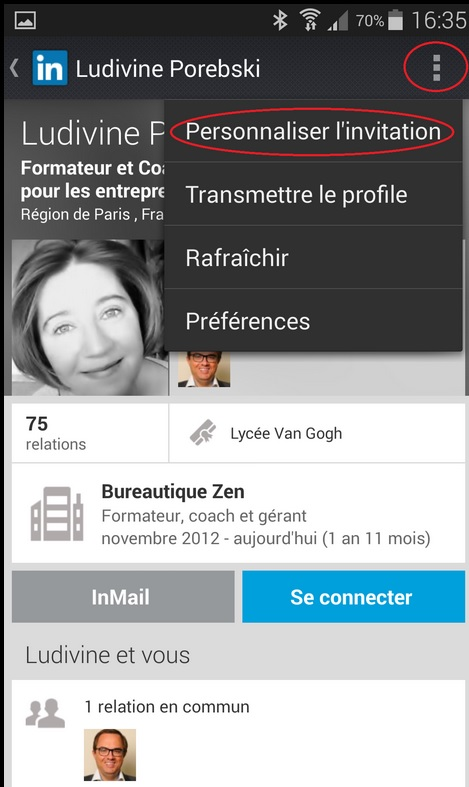 Personnalisation Android