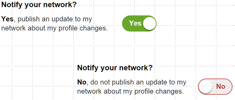 LinkedIn notifications oui non