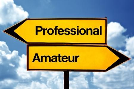 Linkedin professionnel amateur