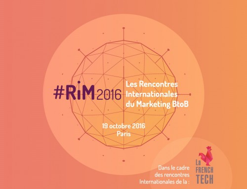Tout sur la Disruption en marketing aux #RIM2016