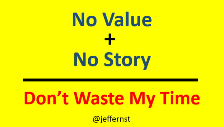 no-value-no-story