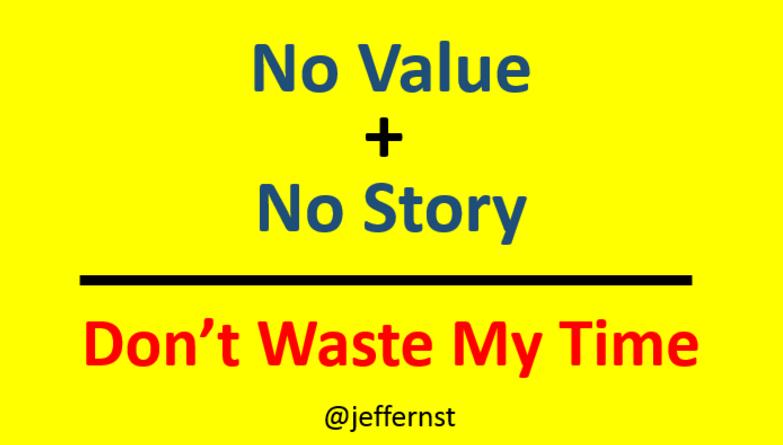 no-value-no-story