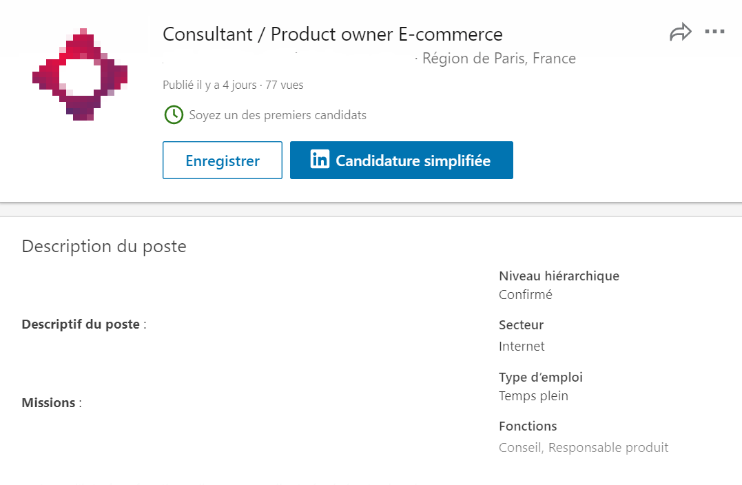 Linkedin Propose De Fausses Offres D Emplois Business On Line