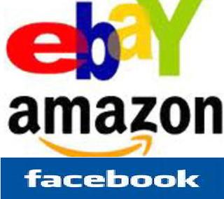 Facebook amazon ebay